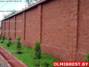 Блоки для забора в Бресте. Каменный забор,  забор из декоративного камн