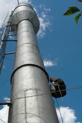 Покраска водонапорных башень