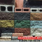Рваные блоки демлер 20*20*40