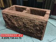 Блоки для забора рваный камень, забор из камня