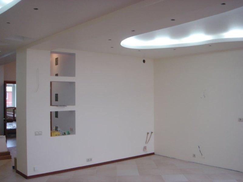 Отделка стен и потолков фото