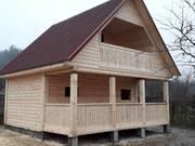 Строим недорогие Дома из бруса от 11 000 руб по всей Бретской обл