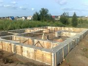 Монолитные работы,  Фундаменты для дома под ключ в Антополе