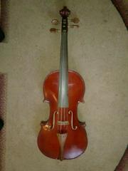 Мастеровая Веолончель4/4 Мастеровая скрипка4/4 цена договорная