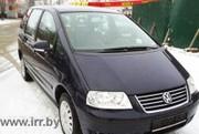 Продам Volkswagen Sharan черный,  2004 г.в.,  1, 9 л,  дизель,  торг